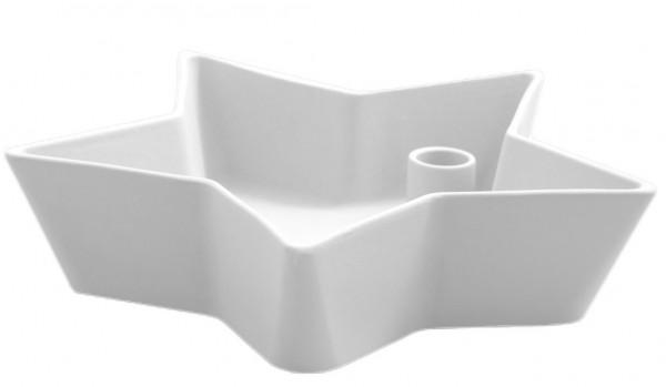 Storefactory Kerzenhalter Lidatorp Stjärna Weiß, groß