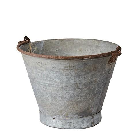 Affari Antiker Zinkeimer, klein