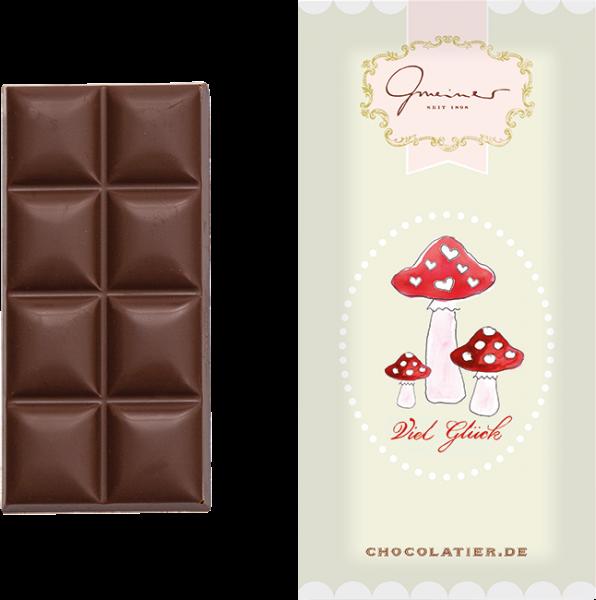 """Vollmilchschokolade """"Viel Glück"""", 45 g"""