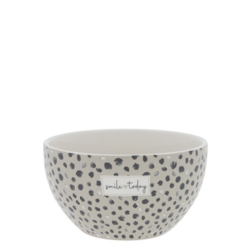 Bastion Collections Schale/Bowl White / Confetti Smile Today
