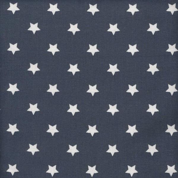 Au Maison Kissen Star Big, midnight blue, 40 cm