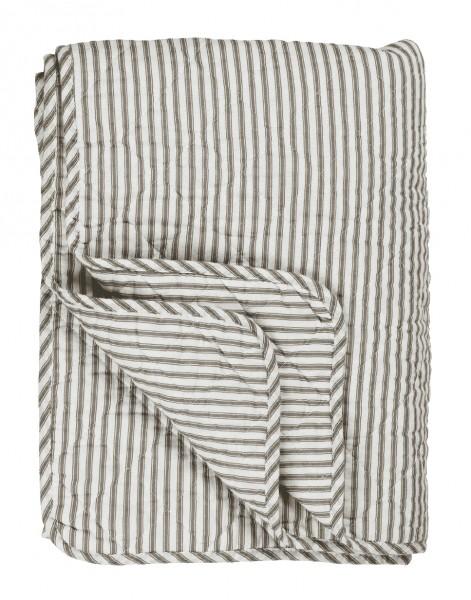 Ib Laursen Quilt, erdfarbene Streifen