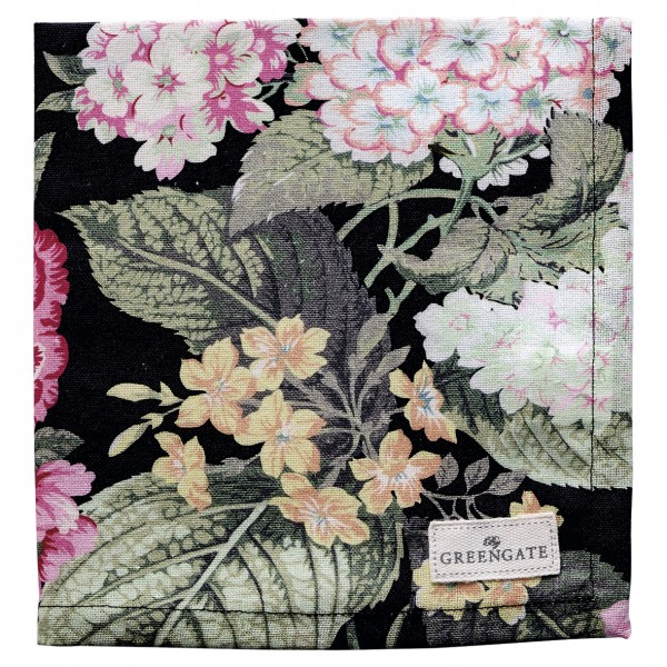 GreenGate Stoffserviette Adele Black