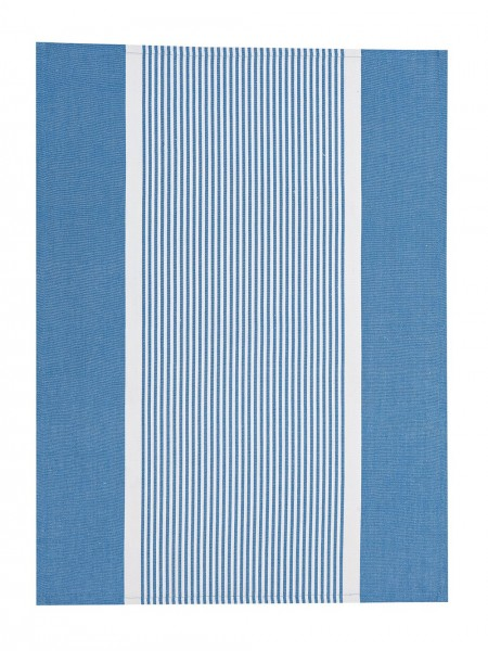 Lexington Geschirrtuch Striped Oxford Kitchen Towel, Blue/White