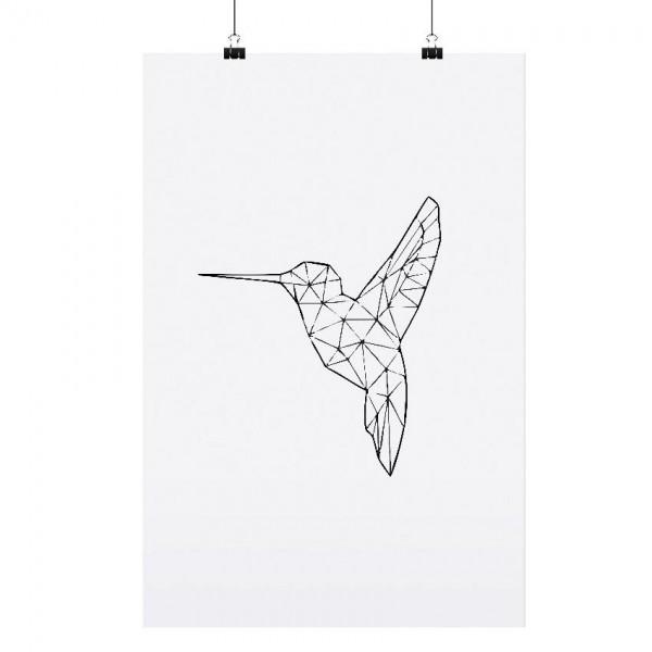 """Tafelgut Poster """"Hummingbird"""", A3"""