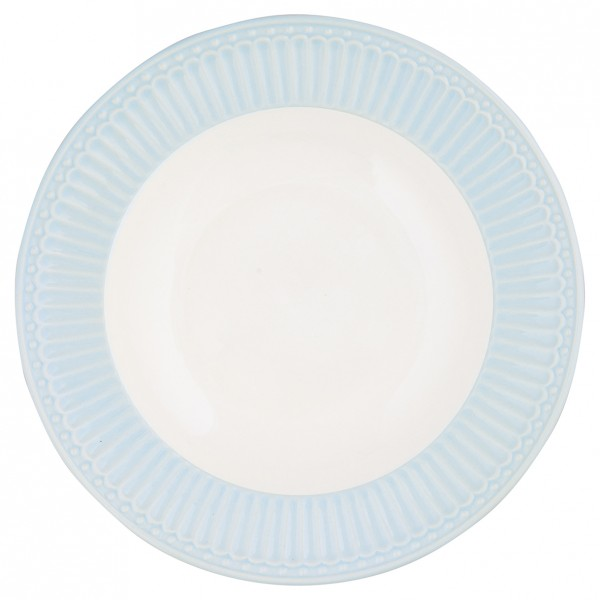 Greengate Deep Plate / Tiefer Teller Alice Pale Blue