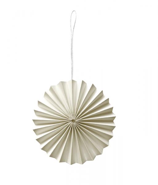 Papier-Ornament, Off-White