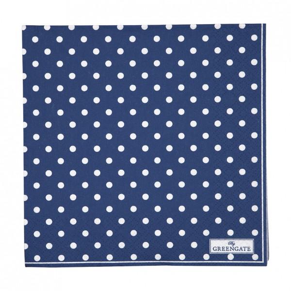 GreenGate Papierserviette Spot Blue