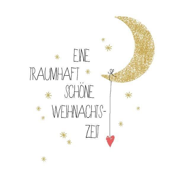 """Kleine Papierservietten """"Traumhaft schöne Weihnachszeit"""""""