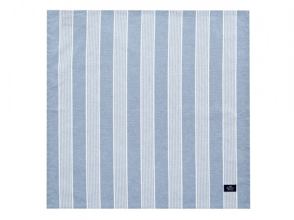Lexington Striped Napkin, Blue/White