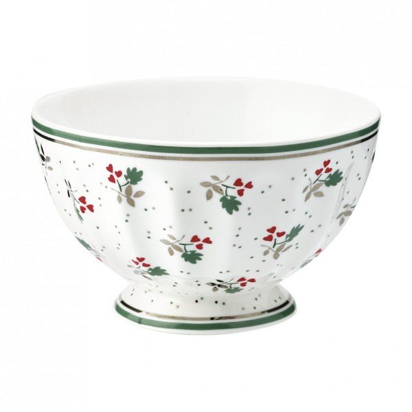 GreenGate Schale / French Bowl Joselyn White, medium