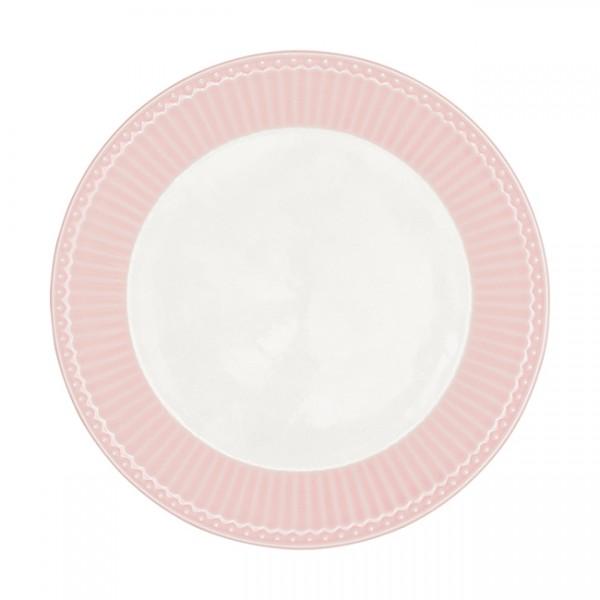 GreenGate Teller / Plate, Alice Pale Pink