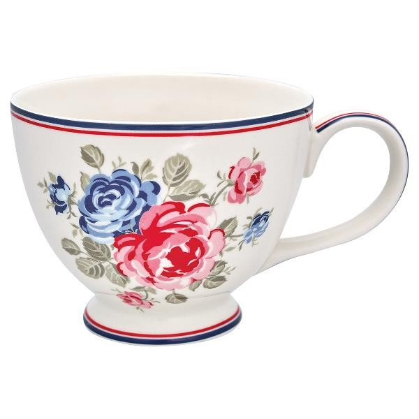 GreenGate Teetasse Hailey White