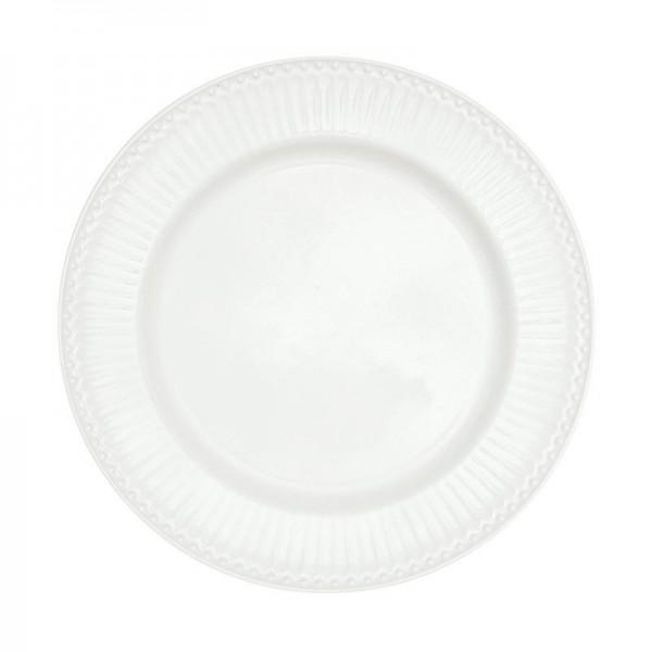 GreenGate Essteller / Dinnerplate, Alice White