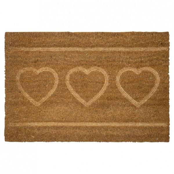Greengate Fussmatte / Doormat Hearts