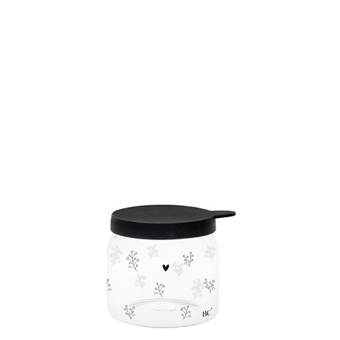 Bastion Collections Vorratsglas Heart and Flowerhearts, mini