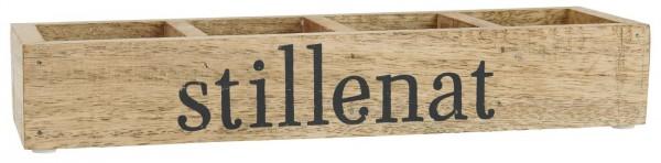 Ib Laursen Holzkiste mit 4 Fächern, Stillenat