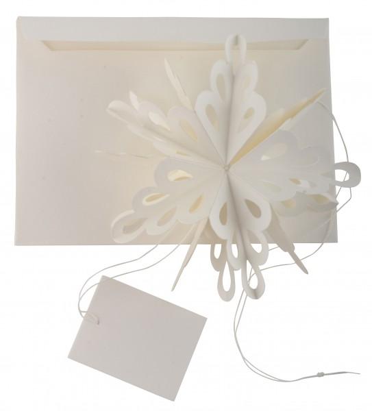 Ib Laursen Papieranhänger Kristall mit Umschlag