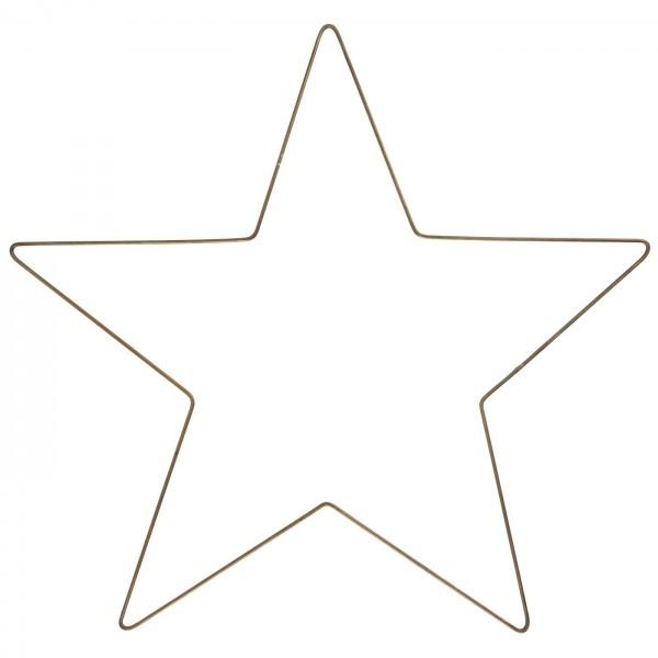 Ib Laursen Großer Stern zum hängen, Gold antik