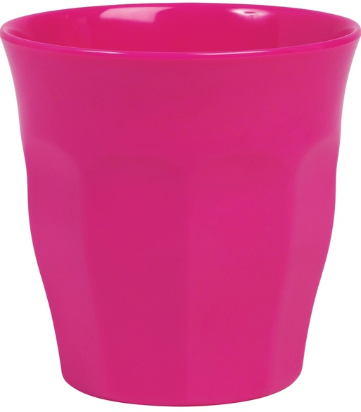Rice Melamin Becher, Fuchsia (Pink)