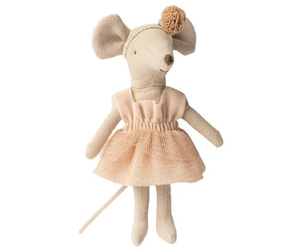 Maileg Maus Dance Mouse Big Sister Gisele, hellrosa