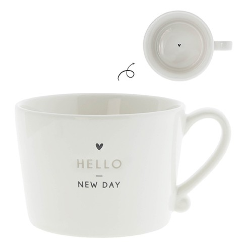 Bastion Collections Cup White / Hello New Day