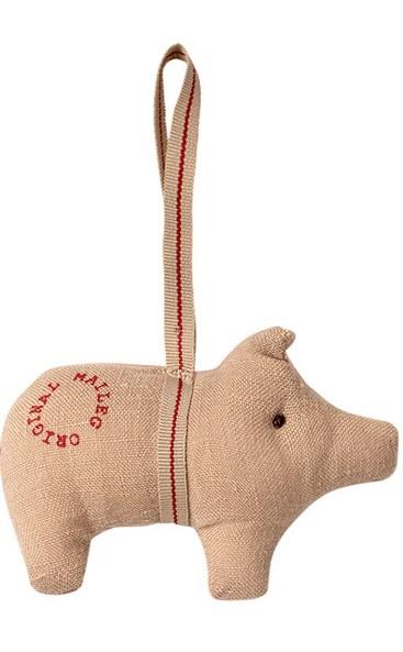 Maileg Schweinchen aus Stoff, Natur