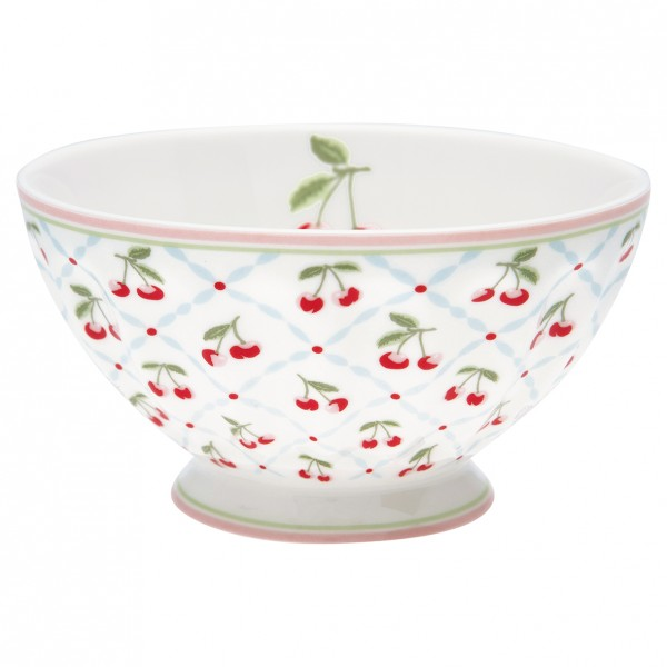 GreenGate Schale / French Bowl Cherie white, xlarge