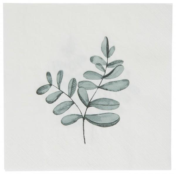 Ib Laursen Papierservietten Eukalyptuszweig