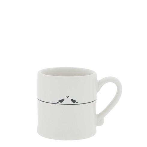 Bastion Collections Espressotasse White/Love Birds
