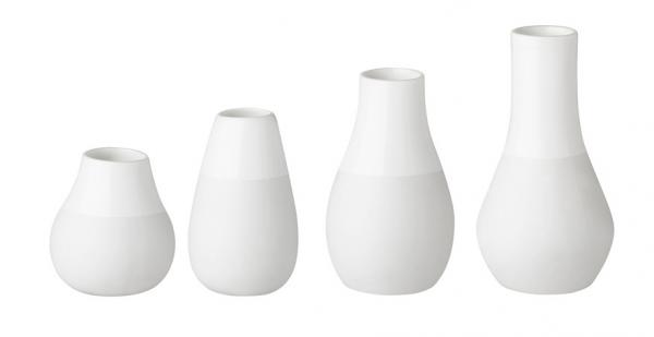 Räder Mini-Vasen im 4er Set in Weiß