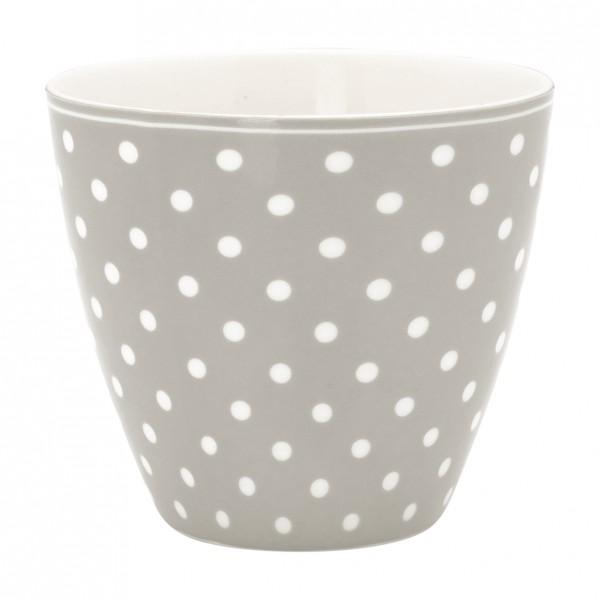 Greengate Latte Cup Spot Grey