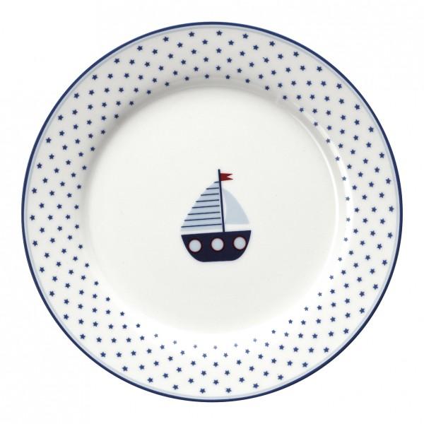 GreenGate Kids Plate / Teller Noah Blue