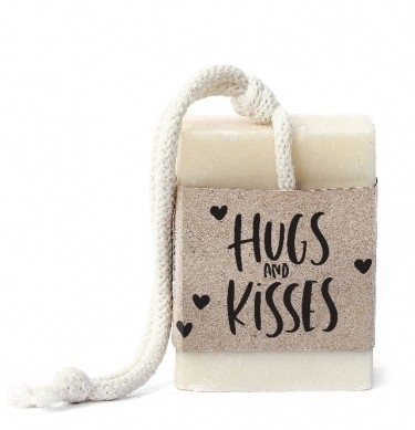 "Tafelgut Seife ""Hugs & Kisses"""