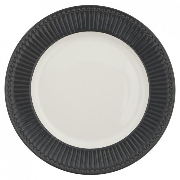 GreenGate Essteller / Dinnerplate, Alice Dark Grey