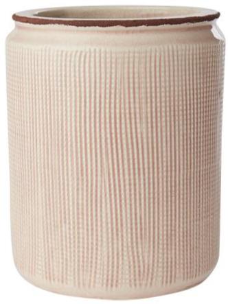 Blumentopf Keramik Zart-Rosé, groß