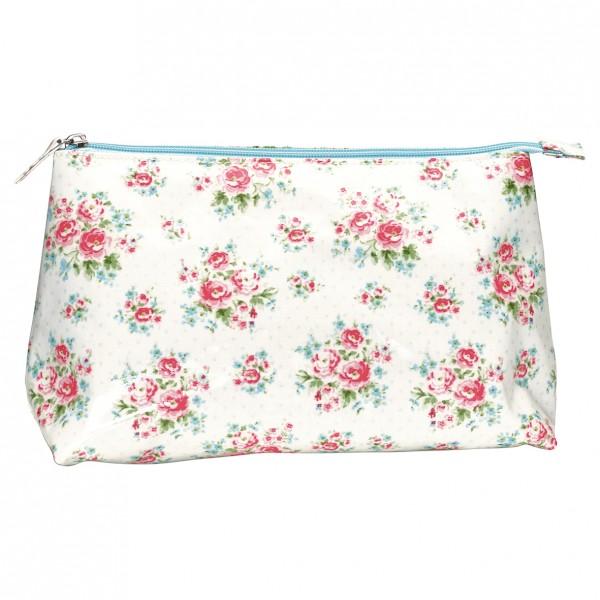 Greengate Kosmetiktasche Cosmetic Bag Tess white, groß