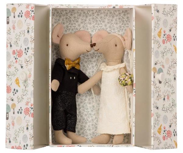 Maileg, Mäuse Hochzeitspärchen