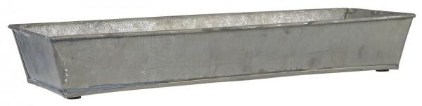 Ib Laursen, Tablett aus Zink mit schrägen Kanten