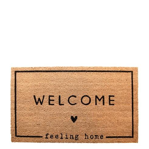 Fussmatte Welcome - feeling home