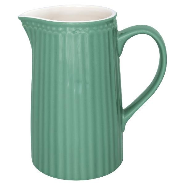 GreenGate Krug / Jug, Alice Dusty Green