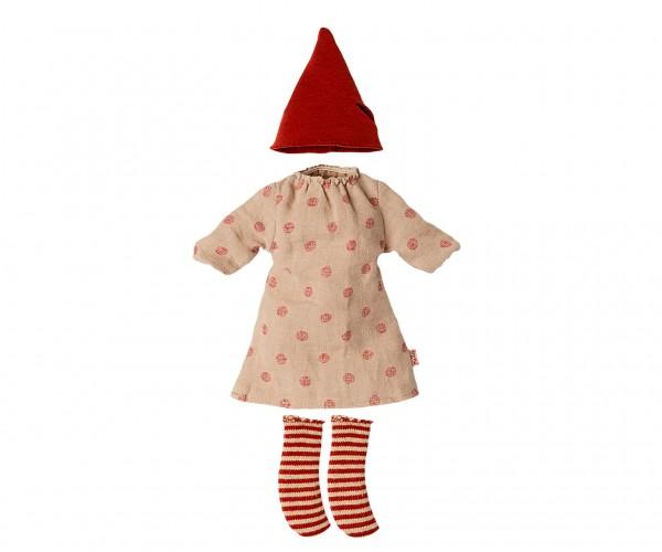 Maileg, Weihnachtskleidung für Medium Maus Girl
