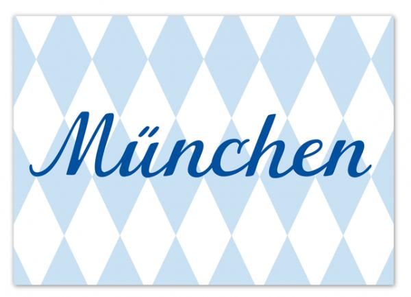 Krima & Isa Postkarte München