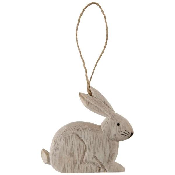 Ib Laursen Hase aus Holz zum Hängen