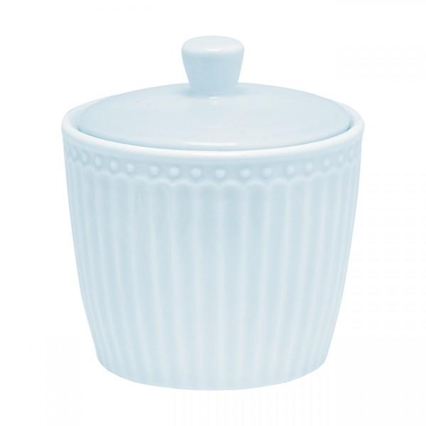 GreenGate Zuckerdose / Sugar Pot, Alice Pale Blue