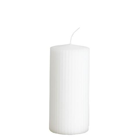 Affari Kerze Rill Weiß, groß