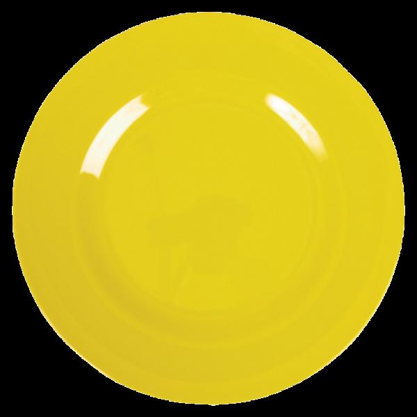 Rice Melamin Teller, Yellow