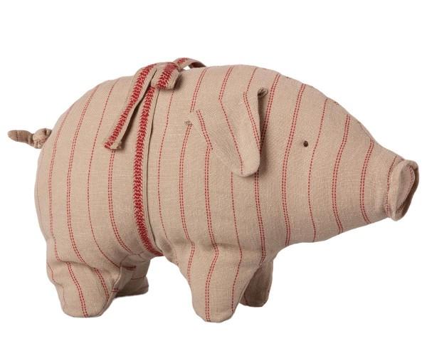 Maileg, Schweinchen Pig with Stripes, klein