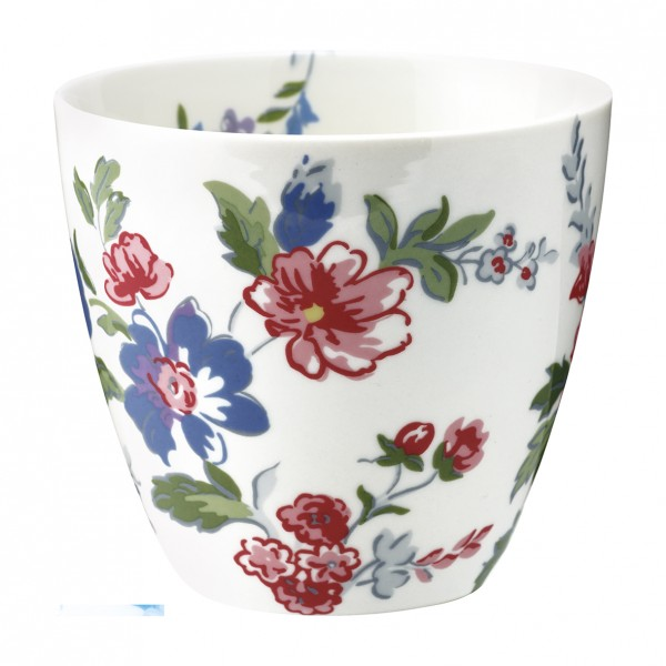 Greengate Latte Cup Isobel White