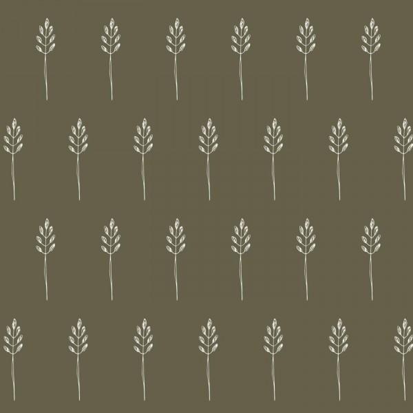 Ib Laursen Papierservietten Serviette Wild Wheat Autumn Green